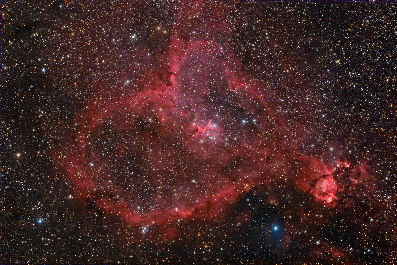 IC1805 - Herznebel IC 1805